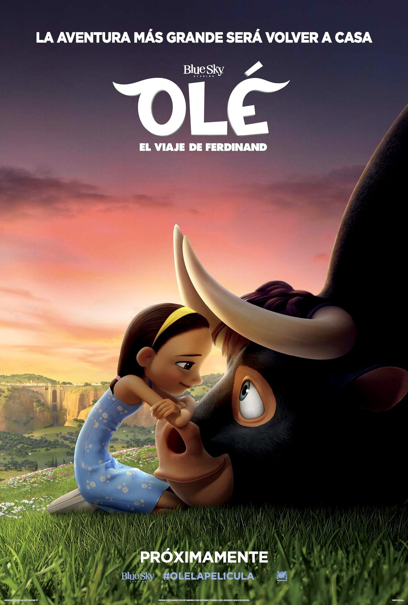 Ole el viaje de ferdinand movie 4d