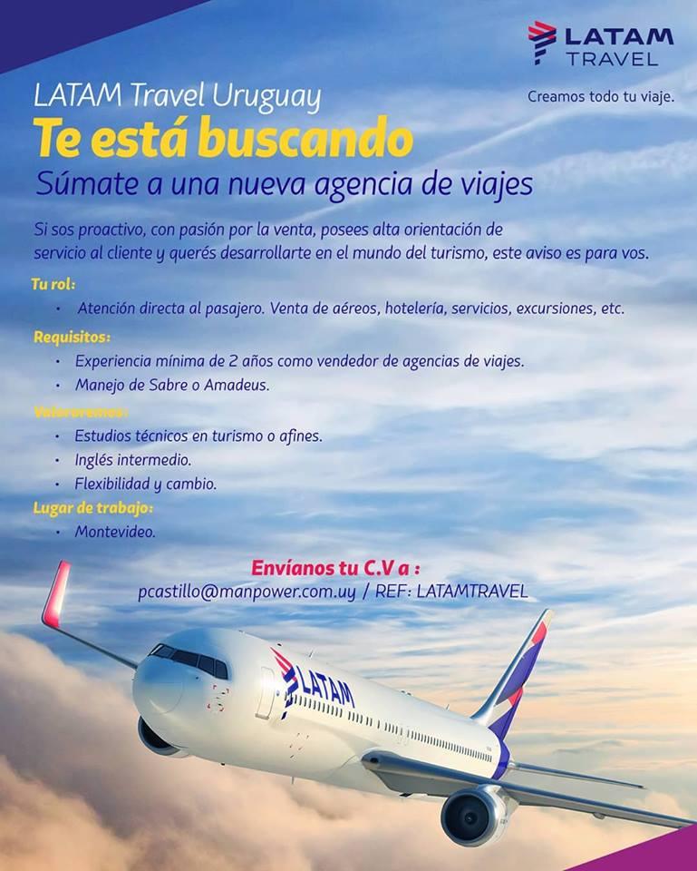 Trabajar en LATAM uruguay