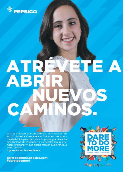 PepsiCo Dare to do more poster