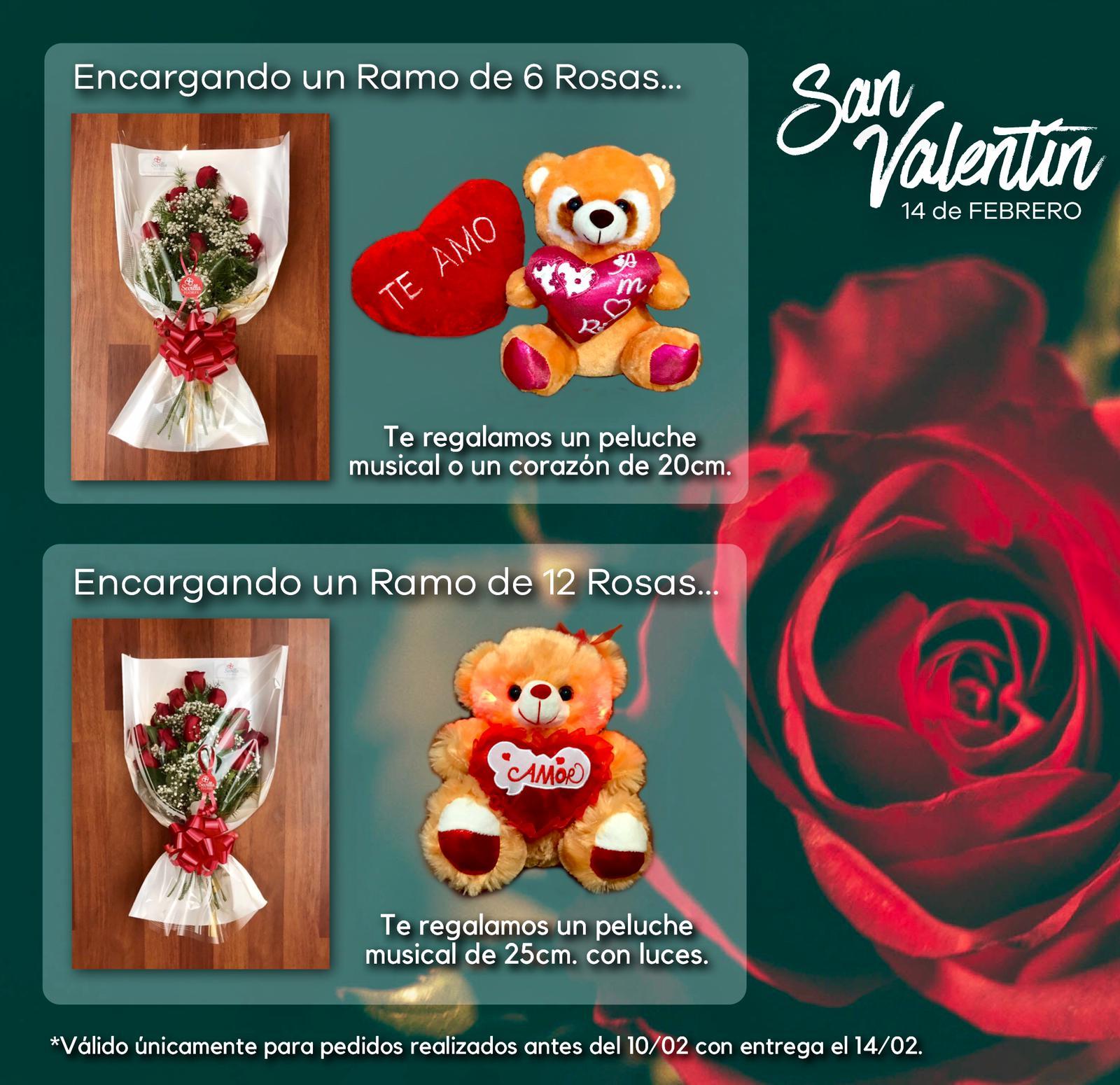 San Valentín Sevilla Flores promo