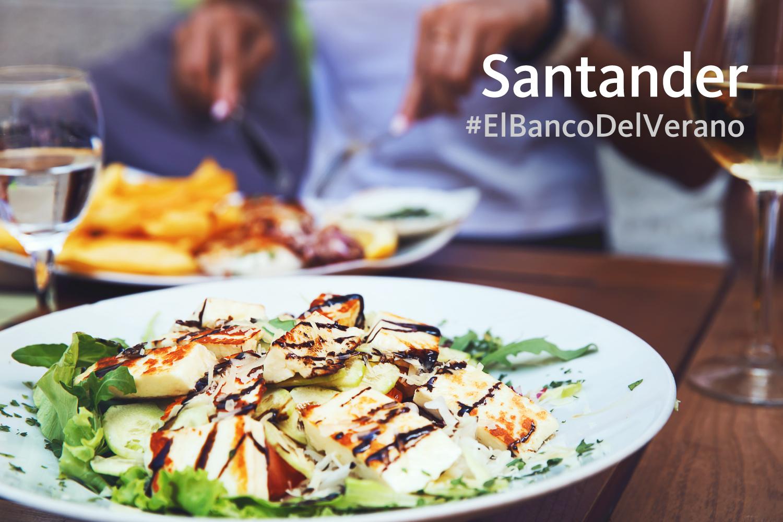 Santander descuentos restaurantes