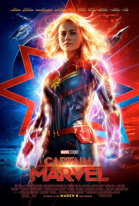 capitana marvel poster