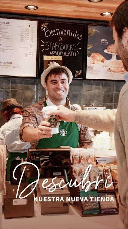 Starbucks Aeropuerto Montevideo