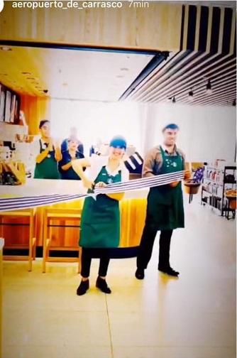 Starbucks Aeropuerto de Carrasco apertura