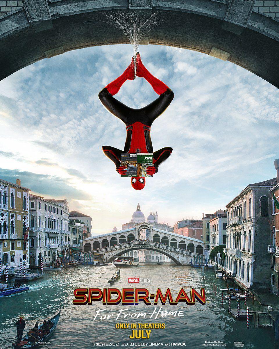 spider-man: Lejos de Casa 4d