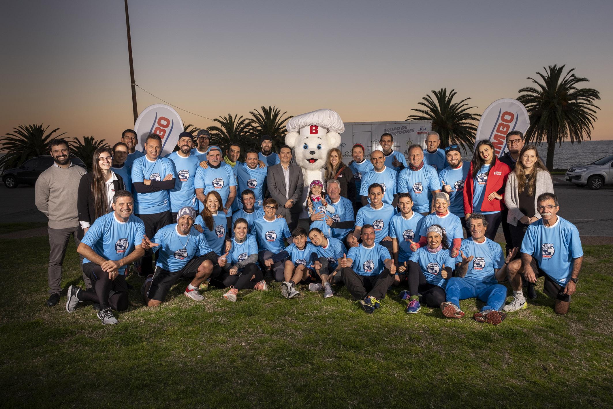 Equipo Bimbo 2019 y Gerentes