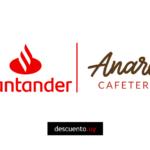 Descuentos en Anaros Café con Santander