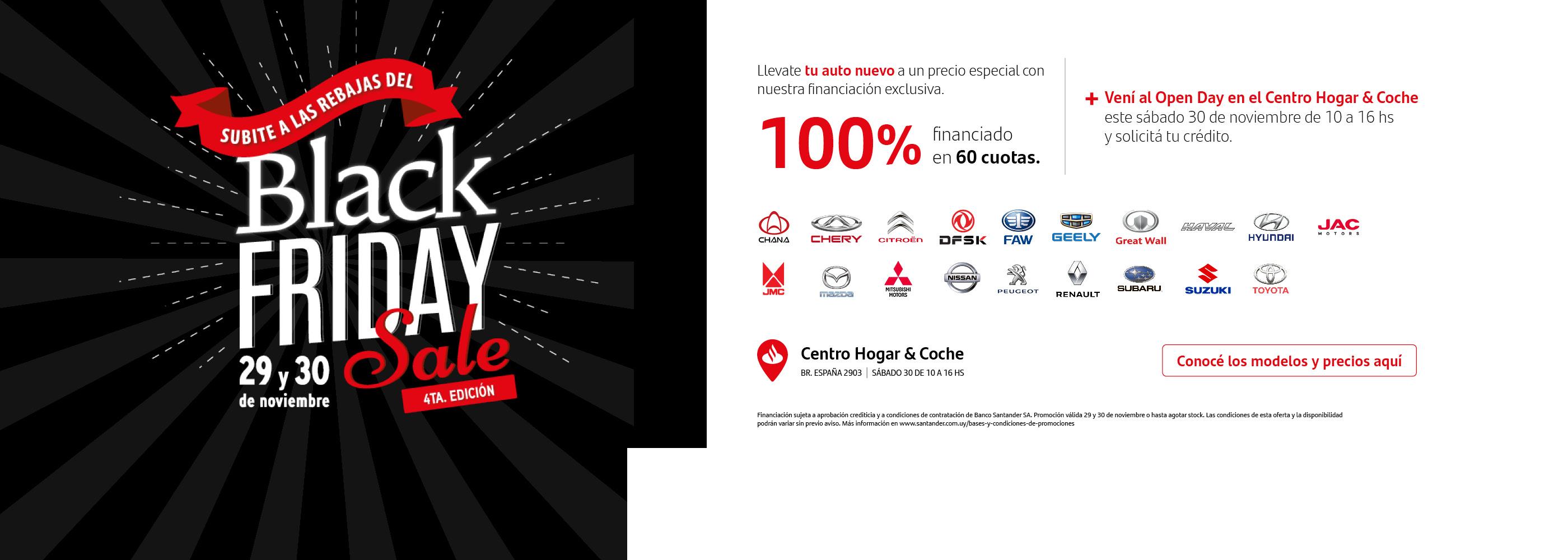 Black Friday Autos Santander
