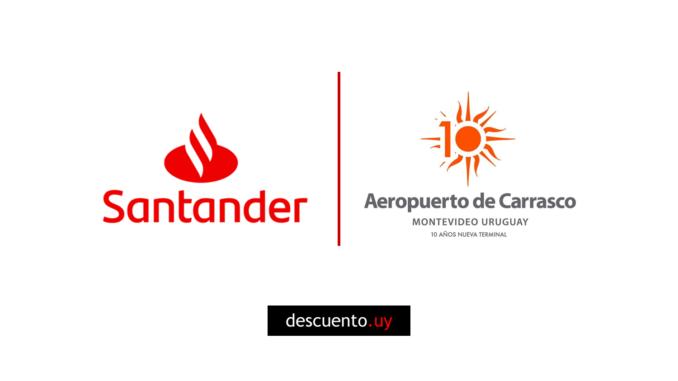 Descuentos con Santander en el Aeropuerto de Carrasco