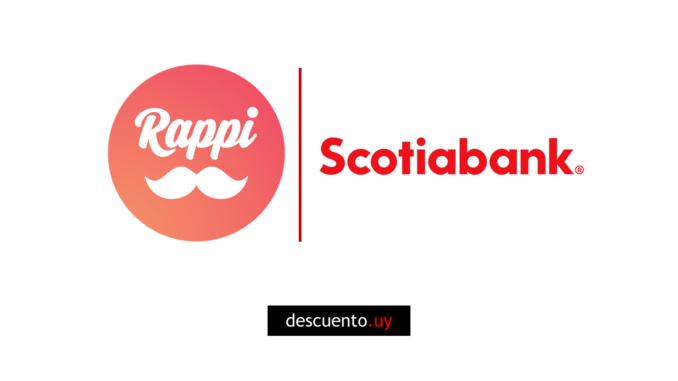 Descuentos en Rappi con Scotiabank