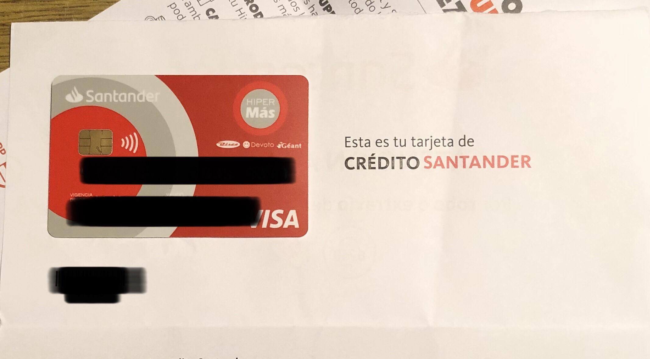Santander Visa Hipermás