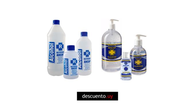 Alcohol en gel uruguay