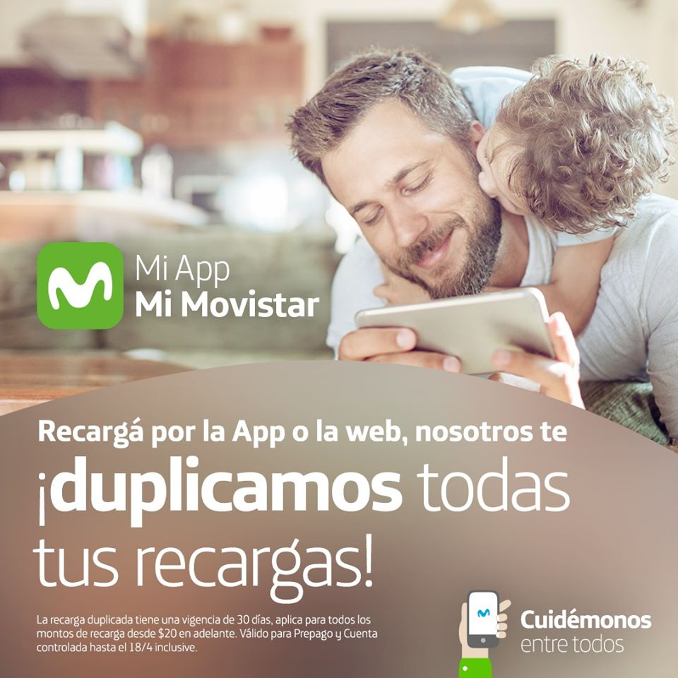 Movistar duplica recarga