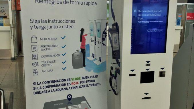 Teminal de Autogestión Aeropuerto de Carrasco