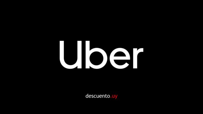 Cupón para Uber Uruguay