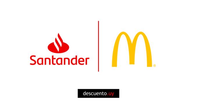 Descuentos en McDonalds con Santander