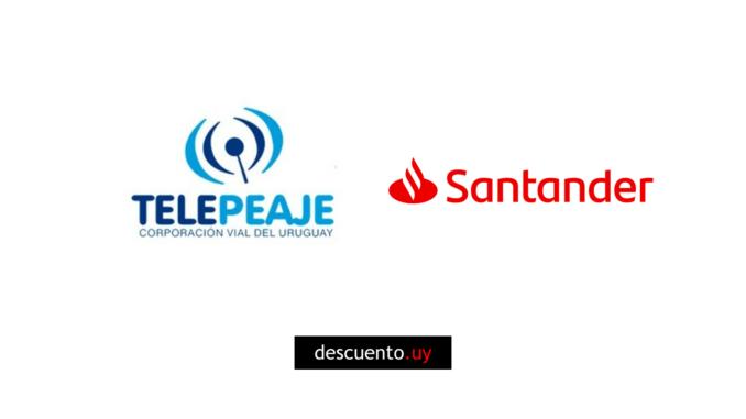 Descuentos en Telepeaje con Santander 2020