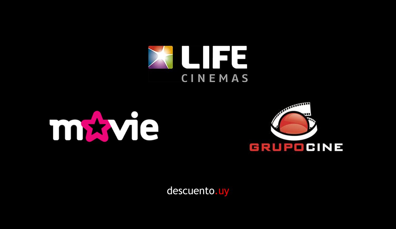 Logos cines uruguay